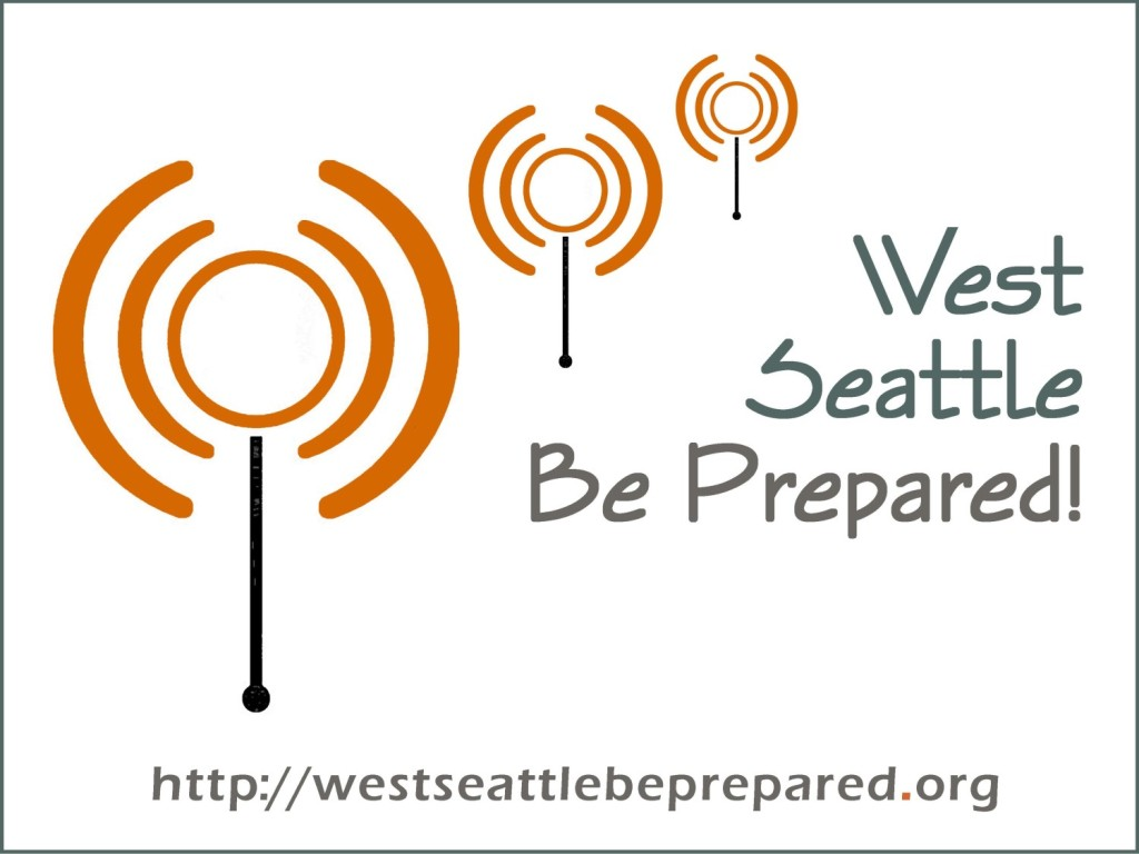 West Seattle Be Prepared logo