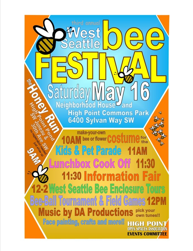 3rd annual Bee Garden Festival and Information Fair @ Commons Park   Seattle   Washington   United States
