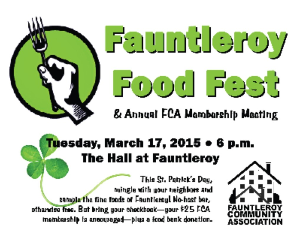 Fauntleroy Food Festival - outreach @ Hall at Fauntleroy